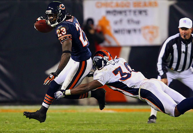 Even a casual NFL fan knows you don't kick it down the middle of the field to the Bears' Devin Hester. The Broncos did, and it cost them the game. Hester returned a punt and a kickoff for touchdowns in Chicago's stunning 37-34 overtime win.