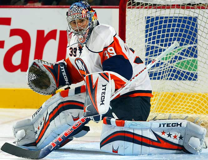 Who says hockey players have to be reserved? DiPietro, 26, is the poster boy for the American invasion of the NHL. Talented, aggressive and supremely confident, DiPietro has the tools to dominate on the ice and the personality to become one of the game's key marketing options.
