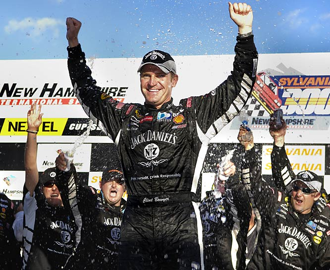 In just his second full season on Nascar's top circuit, Bowyer stunned the field at New Hampshire International Speedway in the opening race of the 12-driver Chase for the Nextel Cup. He ended up finishing third in the final standings behind Jimmie Johnson and Jeff Gordon, with a pair of wins and 17 top-10 finishes.