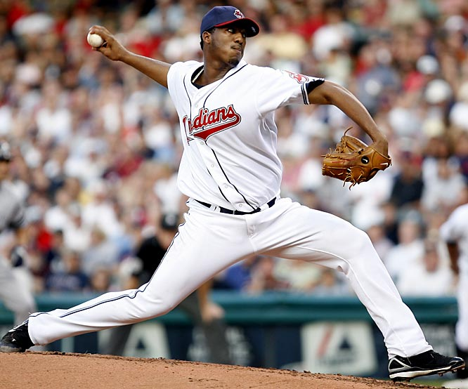 The Indians lanky righthander improved from 1-10 as a rookie to 19-8 in 32 starts in 2007. He ranked second in the AL in wins and ERA (3.06) and finished fourth in Cy Young voting behind teammate C.C. Sabathia.