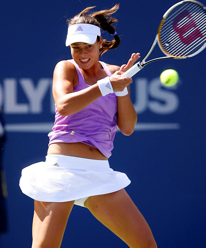 Joining Serbian countrymate Jelena Jankovic up the women's tennis rankings, the 20-year-old Ivanovic finished the year with a career-high ranking of No. 4 in the world. She won three singles titles and served notice with a runner-up finish to Justine Henin at the French Open, and a semifinals appearance at Wimbledon.