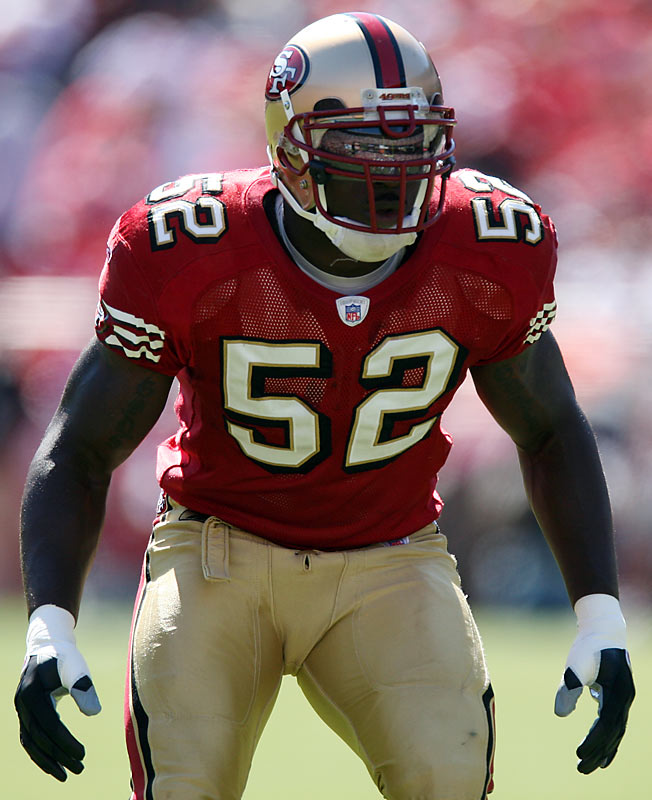 Willis, the No. 12 overall pick in the 2007 draft, has been terrific for a Niners defense decimated by injuries, totaling an NFL-best 174 tackles in his rookie campaign. He has also brought a rarely-seen element of speed to the corps, which was on full display in Week 12 when he chased down Arizona receiver Sean Morey for a game-saving tackle in the Niners' 37-31 overtime victory.