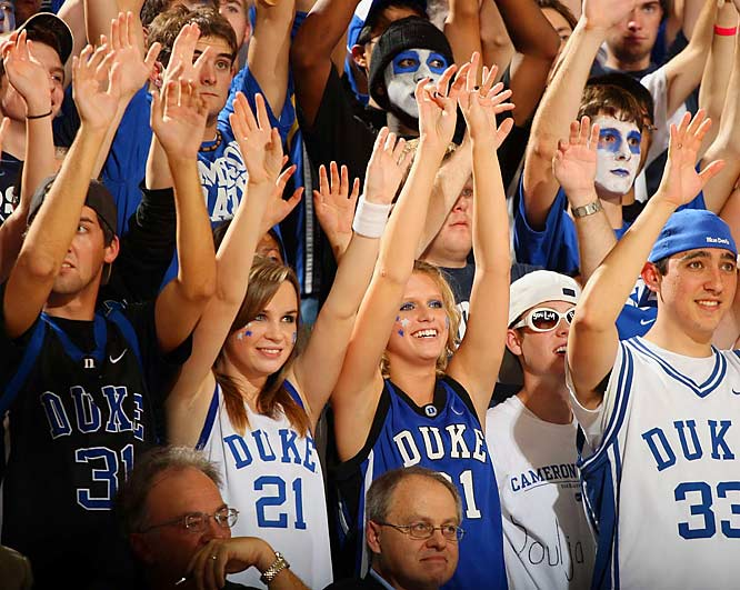 Raise your hand if you want football season to end so people will start paying attention to college hoops.