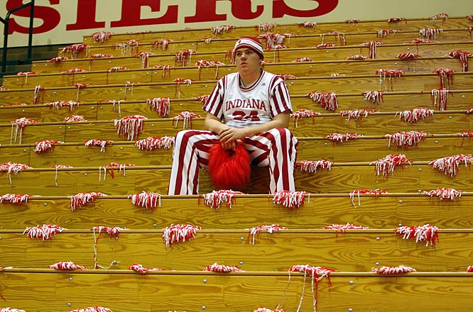 We're not sure why this Hoosier is so unhappy, but if anyone in Bloomington is reading this, please give him a hug.
