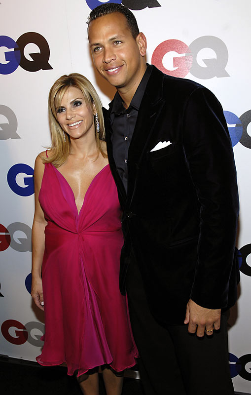 "Alex Rodriguez, shown here with wife, Cynthia, is on a good run. He just signed a monster contract and was honored as one of GQ's ""Men of the Year"" on Wednesday."