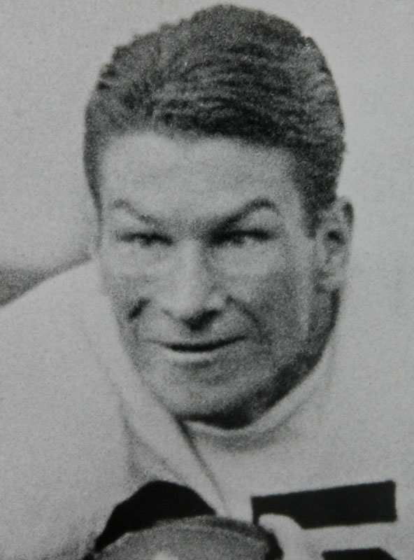 A remarkable multi-faceted talent -- he played safety, punter and kicker -- Smith quarterbacked Alabama to a national title in 1934. He was a two-time All-America and part of the famed '34 team that defeated Stanford  in the Rose Bowl.<br><br>Runner-up: <br>Jack Mitchell, QB, Oklahoma (1946-48)