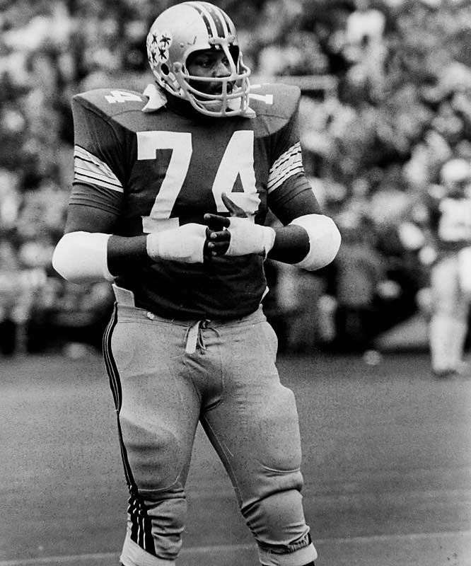 Yet another great Buckeye tackle, Hicks won the Outland and Lombardi Awards in 1973, and finished second in the Heisman voting.<br><br>Runner-up: <br>Tracy Rocker, DT, Auburn (1985-88)