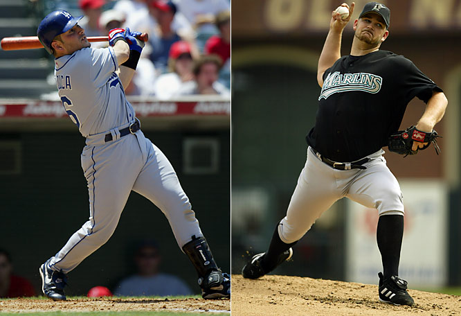 The trade of the fiery Lo Duca was supposed to derail L.A.'s fragile chemistry and send them tumbling out of the playoff race when he went to Florida in a package that brought back right-hander Brad Penny and Hee Seop Choi. Instead, the Dodgers regrouped (despite Penny's injury) and won the NL West while the Marlins, despite adding outfielder Juan Encarnacion and reliever Guillermo Mota in addition to Lo Duca in the trade, lost a tight battle for the wild card.