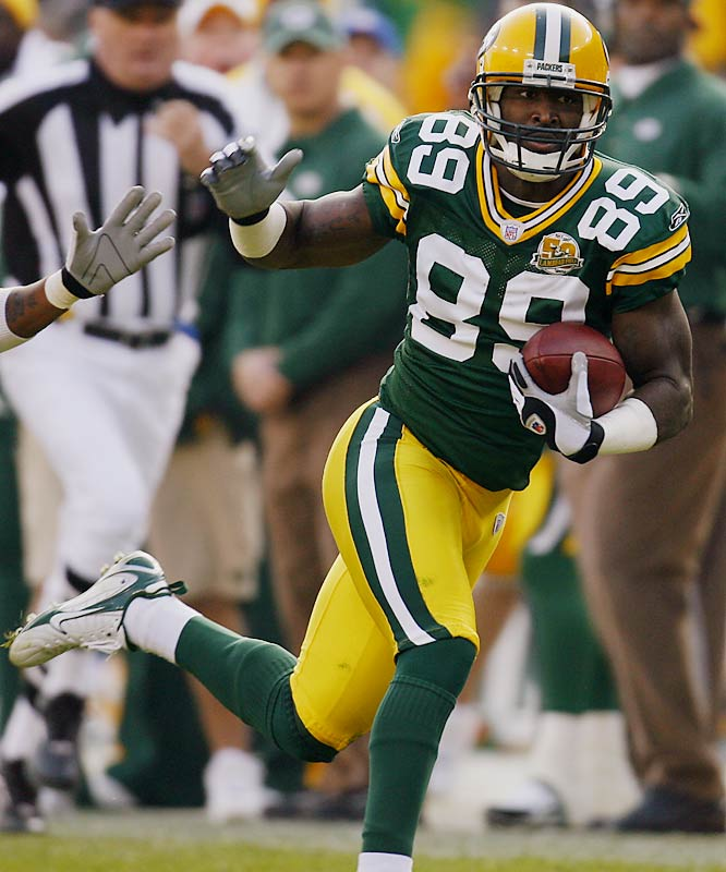Jones has 43 catches for 633 yards and has become the primary vertical threat for the Packers. The San Jose State product immediately displayed toughness and good hands to go along with his speed.