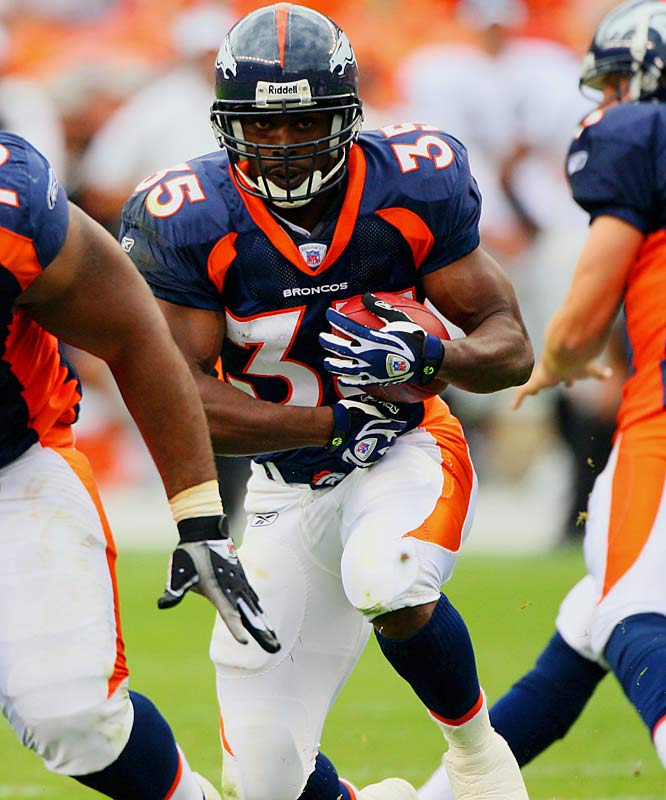 The former Texas Longhorn wasn't drafted, but proved he could carry on the Broncos' tradition of excellence at running back. He's been slowed by injuries, but when he's in there he has averaged 5.0 yards per carry and been a dangerous weapon at receiver.