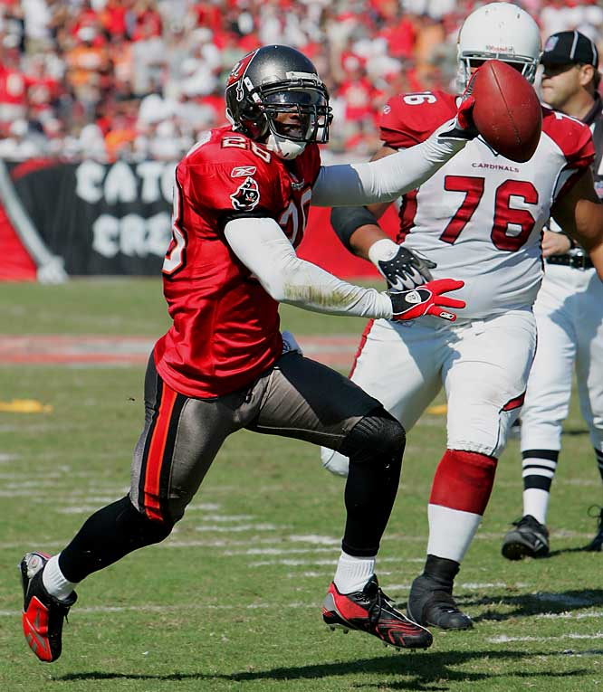 A converted cornerback from Syracuse, Jackson has been a standout in Tampa Bay's Cover Two defense. He's an excellent hitter with a knack for finding the ball. Jackson has 12 pass defenses, two interceptions and 45 solo tackles.