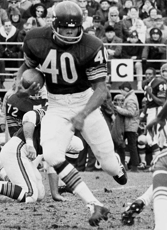 The Bears legend made an incredible impact in his short career. He is the NFL all-time leader in kickoff return average (30.56 yards) and is tied for the lead in kickoff returns for TDs with six.