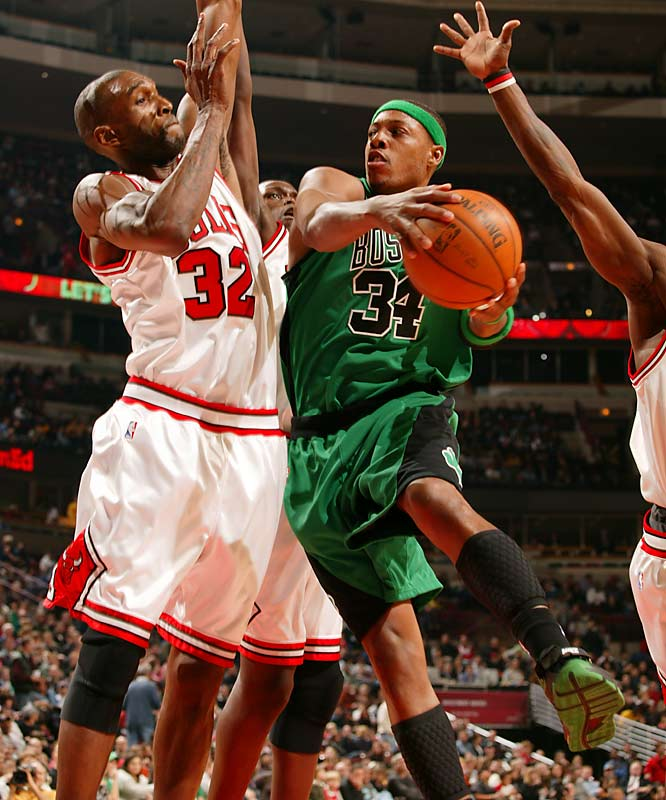 Nobody is happier these days than longtime Celtic Paul Pierce, who is averaging 21 points, six rebounds and five assists this season.