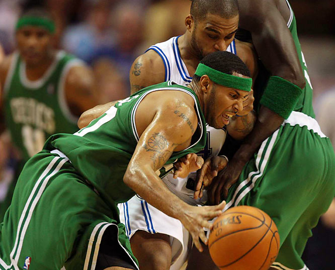 Eddie House has provided a spark off the bench -- averaging eight points in 19 minutes per game.