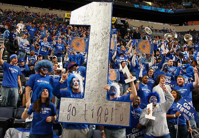 The fans are right -- Memphis is the No. 1 team in the nation.