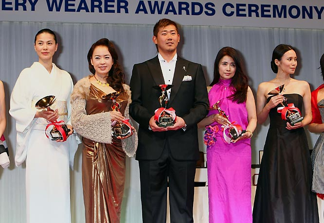 Forget winning a World Series. The real honor for Daisuke Matsuzaka came on Wednesday when he was honored as one of the Best Jewelry Wearers at an awards ceremony in Japan.