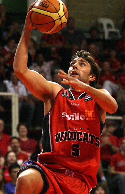 Caporn spent two years at St. Mary's before turning pro in the Australian National Basketball League.