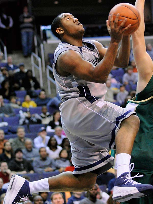 The Georgetown freshman is shooting 44.4 percent from the three and averaging 9.8 ppg for the No. 7 Hoyas.