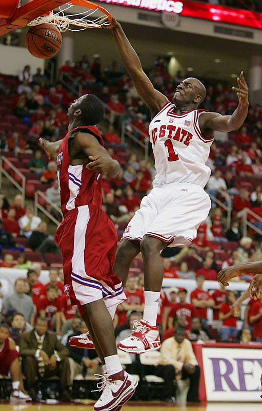 In his first season with the Wolfpack, J.J. Hickson has grabbed two ACC Rookie of the Week honors.