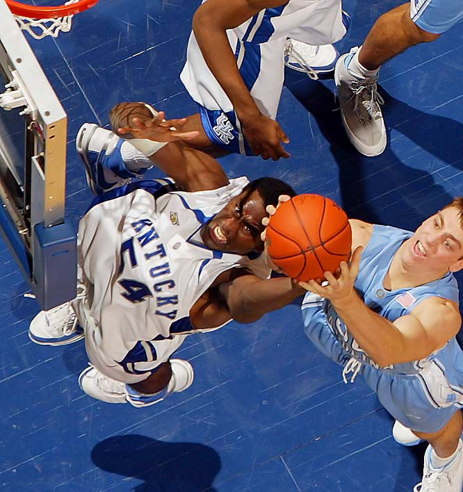 Despite Kentucky's downtrodden year, Patterson has managed 16.8 ppg so far.