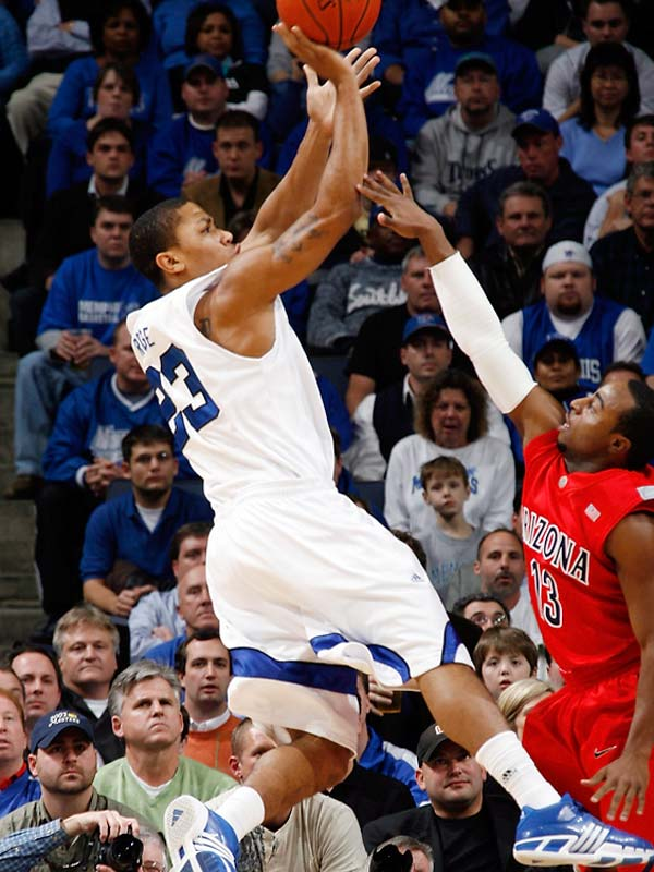 The freshman is leading an undefeated Memphis team with 4.5 assists per game.