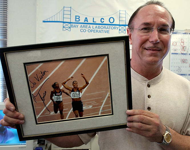 BALCO founder Victor Conte tells a national tv audience watching ABC that he gave Jones illegal performance enhancing drugs before, during and after the 2000 Olympics.