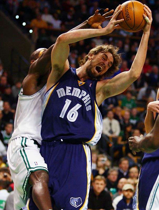 "Gasol, booed at times in Memphis, has made a greater impression for what he doesn't bring than the 19 points and nine rebounds he does average for the Grizzlies. ""He wants to be <i>the</i> guy but he needs tough guys around him,"" a scout said. ""He was most successful under former coach Mike Fratello because he ran a lot of plays where Pau received two screens to get the ball, so he didn't have to go run to the block and fight to create position. Now they have young guards, and he gets frustrated easily when they call a play for him and the ball doesn't get to him."""