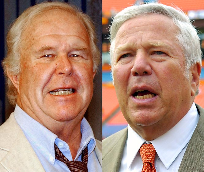 Ned Beatty as Robert Kraft: <br><br>After squealing like a pig in his tighty-whities for a toothless hillbilly in <i>Deliverance</i>, the part of the Patriot's owner should be no problem for this veteran actor.