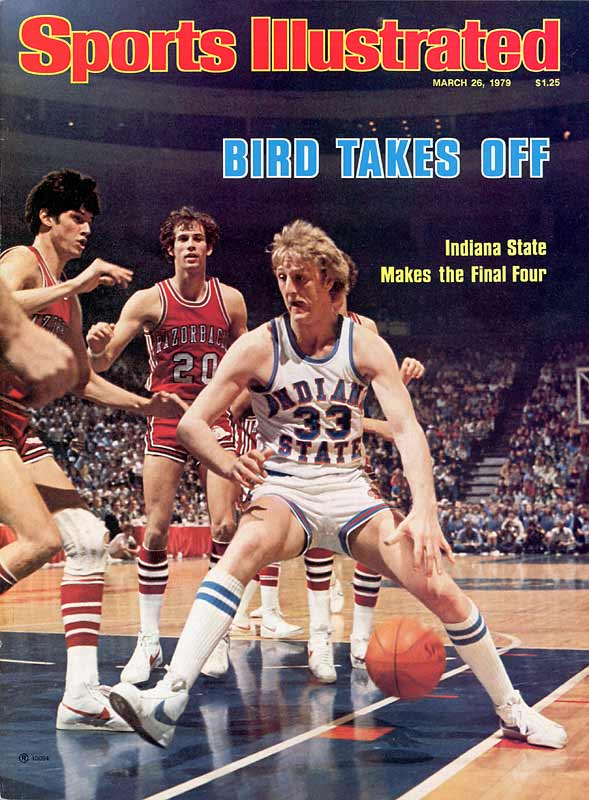 The Boston Celtics had drafted Indiana State sensation Larry Bird with the sixth overall pick in the 1978 NBA Draft, but the versatile forward insisted on returning for his senior season and earning his degree before turning pro. The Hick from French Lick spirited the Terre Haute school to 33 straight victories, carrying the Missouri Valley champs to their first and only national title game. But Bird missed 14 of his 21 shots in his final collegiate contest, struggling mightily against future foil Magic Johnson in a 75-64 defeat.