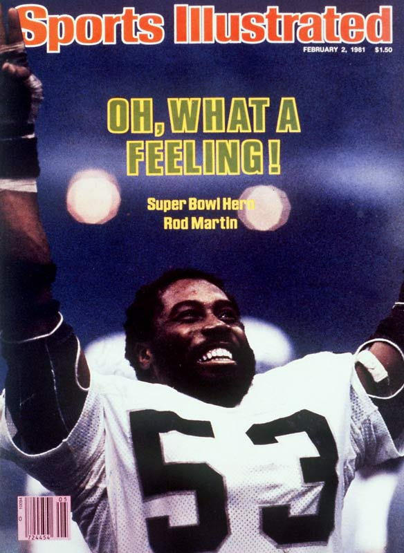 Ron Jaworski still sees Rod Martin in his nightmares. After picking off the Polish Rifle's first pass of Super Bowl XV to set the table for a touchdown, Martin would bring down two more interceptions to establish a Super Bowl record in his team's convincing 27-10 victory over the favored Eagles.