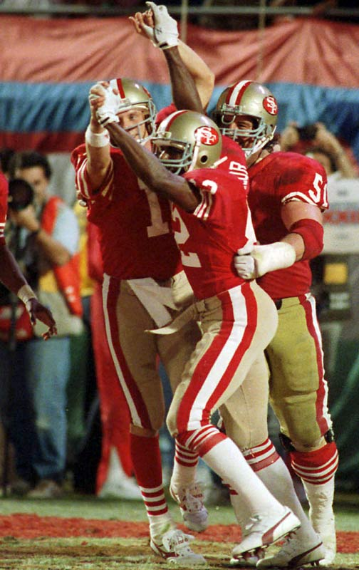 San Francisco's <i>other</i> wide receiver spent most of his career in Jerry Rice's shadow, so Super Bowl XXIII seemed like another day at the workplace for Taylor. Rice caught 11 passes on the evening -- setting the single-game record for receiving yards (215) on his way to MVP honors -- but the 49ers still trailed 16-13 with under a minute remaining. That's when Joe Montana found Taylor in the back of the end zone for a 10-yard touchdown -- the wideout's first and only catch of the game -- which lifted the Niners to their third title in eight seasons.