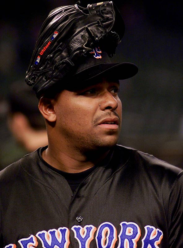 A celebrated free-agent pickup in 1992, the controversial outfielder didn't meet expectations -- he wore earplugs at times to counter the Shea Stadium boo-birds -- before being shipped to the Orioles in 1995. But the Mets brought him back in '99 via trade with the Dodgers, a second tenure marked by Bonilla's reported clubhouse card-playing incident with Rickey Henderson while the Mets were losing a decisive Game 6 of the NLCS against Atlanta. In parting ways in 2000, Bonilla agreed to a buyout in which the Mets would pay his salary in deferred payments -- $1.193 million each July 1 from 2011 to 2035, for a total of $29.8 million.