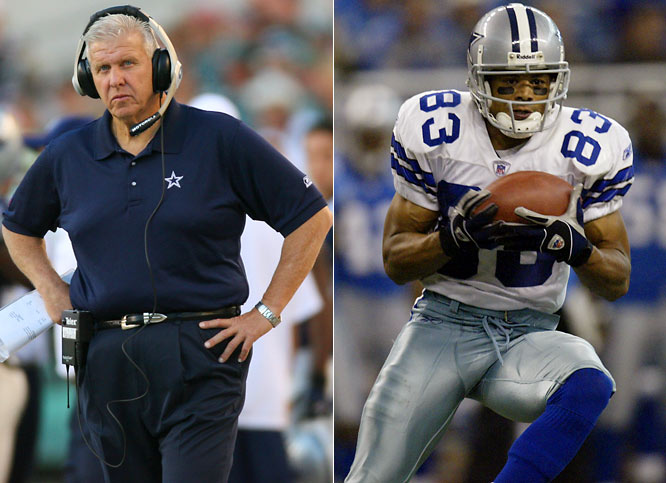 "The Cowboys' first trade in the Parcells era landed them Glenn, the injury-plagued wide receiver whom Parcells famously referred to as ""she"" during their time together in New England. Glenn went on to have two 1,000-yard seasons with the Big Tuna in Dallas."