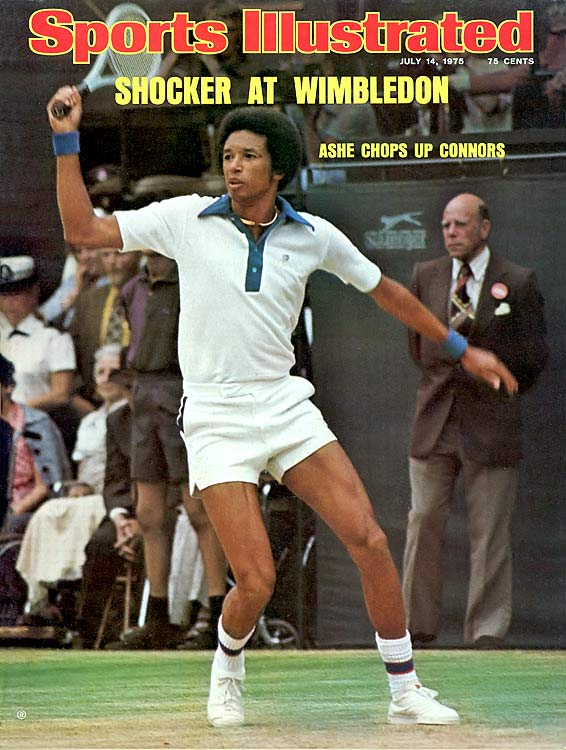 Ashe was the only black male to win a major singles title (he won three, actually), and also both the U.S Amateur and Open Championships. As a U.S. Army lieutenant, he was required to maintain his amateur status, but nevertheless dominated the professional scene to earn a No. 1 ranking in 1968 and '75.