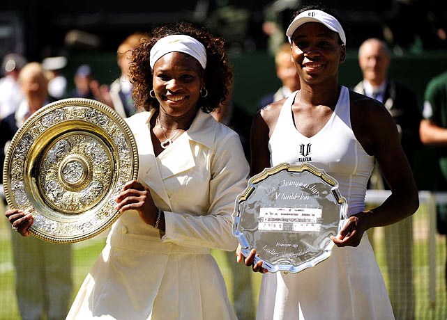 The dominant sisters have combined for a staggering 19 Grand Slam singles and 11 Grand Slam doubles titles since 1998. The eldest, Venus, became the first black woman to win at Wimbledon since Althea Gibson and has since fought for equalized pay between men and women on the court.