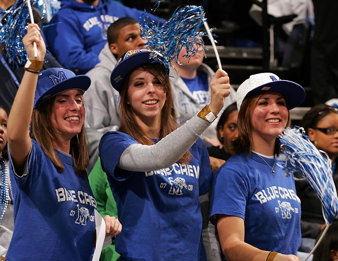 Memphis fans are enjoying the Tigers' perfect season.