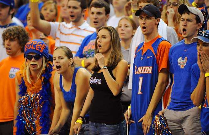 Life isn't so sweet when your team is in the middle of the SEC pack, is it Gator fans?