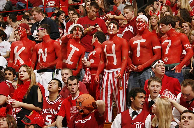 These IU fans know there's only one man who can save their program -- Bobby Knight.