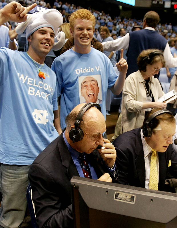 Dick Vitale's return was one of the highlights of Wednesday's North Carolina-Duke game. Another was the appearance of a Landry (from 'Friday Night Lights') look-alike.