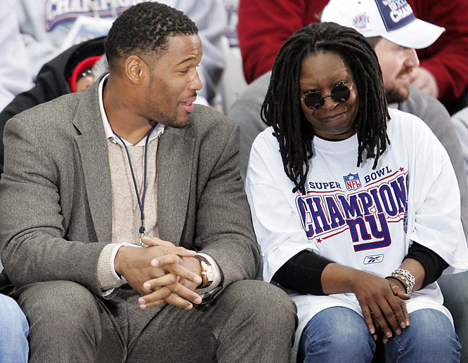 Michael Strahan will tell anyone who'll listen about how his plan to skip training camp worked out perfectly...