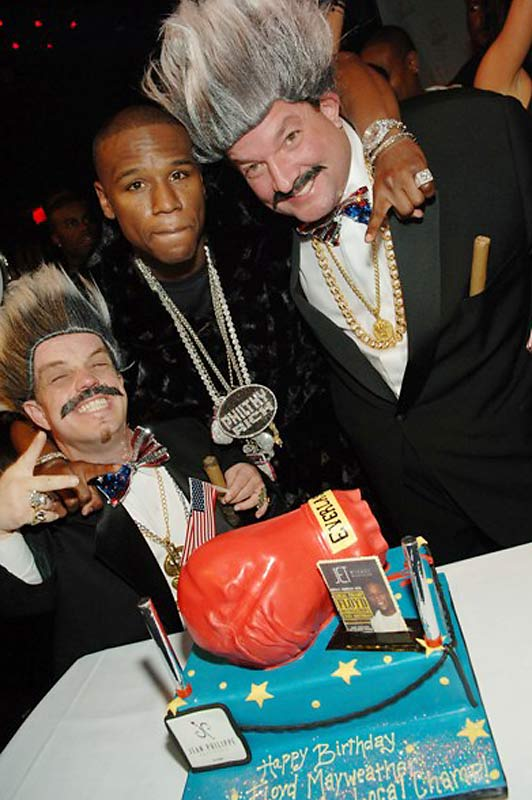 But he celebrated his birthday in style at Las Vegas' Jet nightclub this past Monday.