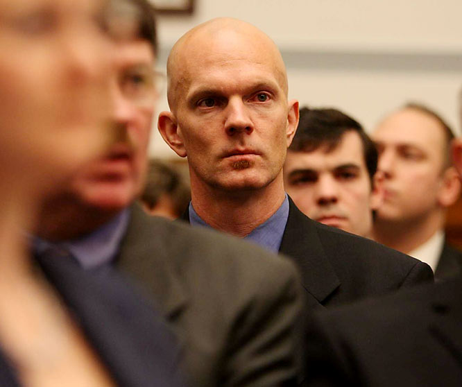 "Lurking ominously behind Clemens during the hearing was IRS Special Agent Jeff Novitzki, who helped build the Barry Bonds perjury case and secure the conviction of track star Marion Jones for lying about her use of performance-enhancers. Novitzki will surely play a role in any investigation into the honesty of Clemens, who expressed gratitude for having had his day and the confidence that he would be back in Washington ""under different terms.""  (Clemens was indicted on charges of perjury on Aug. 19, 2010.)"