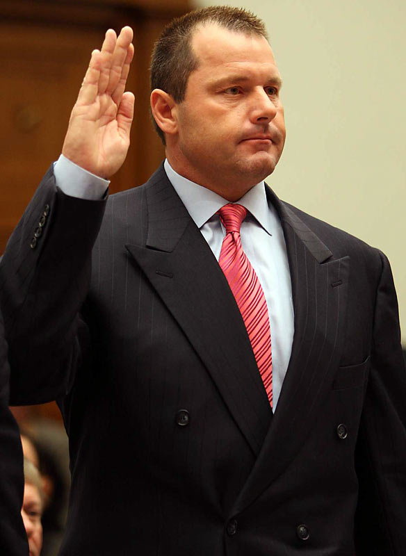 Roger Clemens did solemnly swear before the House Committee on Oversight and Government Reform that he has never taken human growth hormone or steroids, and that any injections he received from former trainer Brian McNamee were simply Vitamin B-12 and the painkiller Lidocaine.