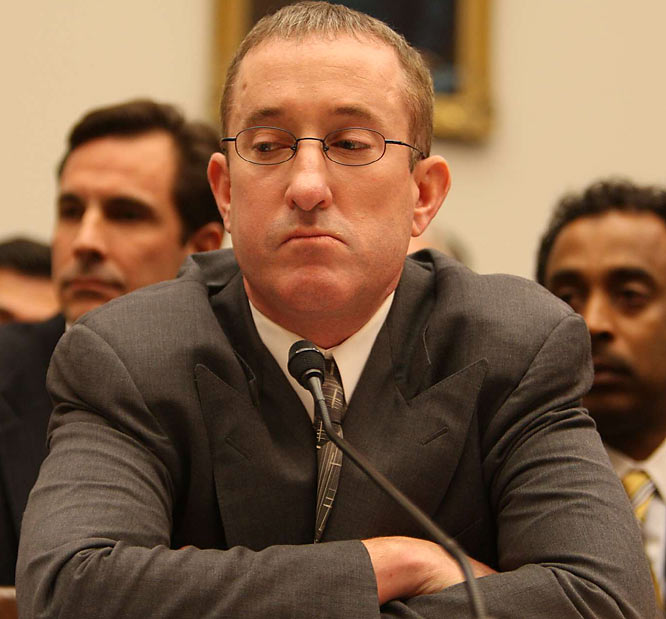 "Brian McNamee solemnly swore that he shot Clemens up with HGH, Winstrol, and testosterone on at least 20 occasions and that he had ""no reason to lie, and every reason not to."" McNamee later received an apology from committee chairman Henry A. Waxman (D-Cal.) for harsh treatment by some inquisitors, one of whom -- Rep. Christopher Shays (R.-Conn.) -- branded the embattled trainer ""a drug dealer"" -- a point McNamee disputed."