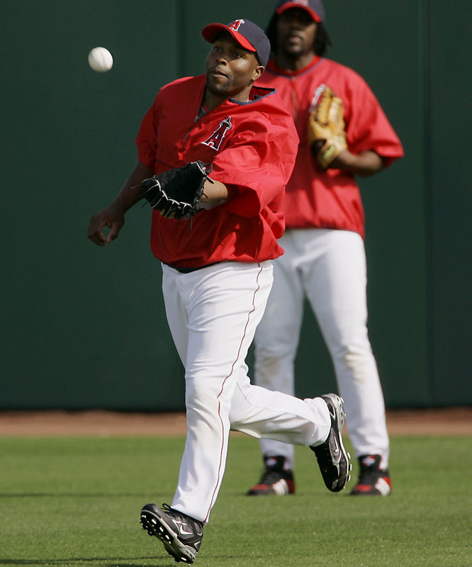 Beloved in Minnesota, the Twins couldn't come up with the cash to keep the AL's best defensive centerfielder who has become a consistent offensive threat. The Angels swooped in and signed him to a five-year $90 million deal and will count on him to protect Vlad Guerrero in their lineup.