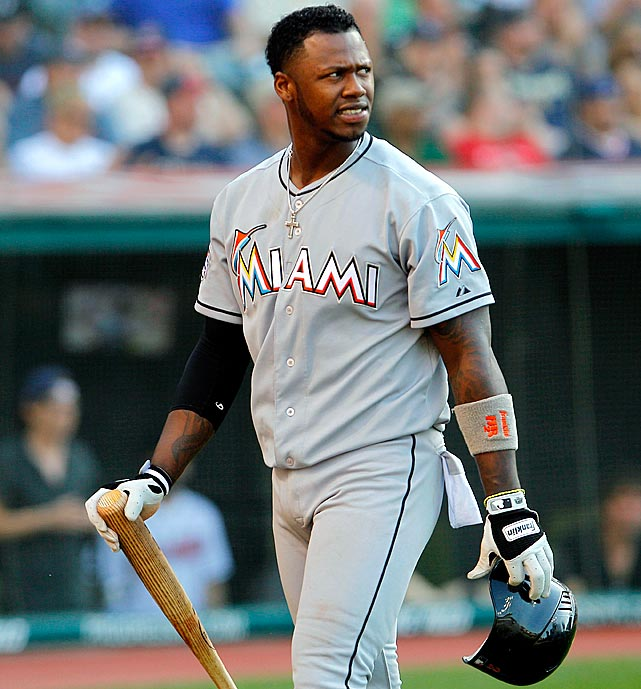 "Ramirez cut his hand when he hit an electric fan after returning to the dugout following a sixth-inning groundout against the Cardinals on July 8, 2012. He left the game and received stitches for the injury. ""Very stupid injury,"" manager Ozzie Guillen told reporters. ""Very immature. ... You make an out, you hit something and you injure it, you don't just hurt yourself, you hurt the ballclub."""