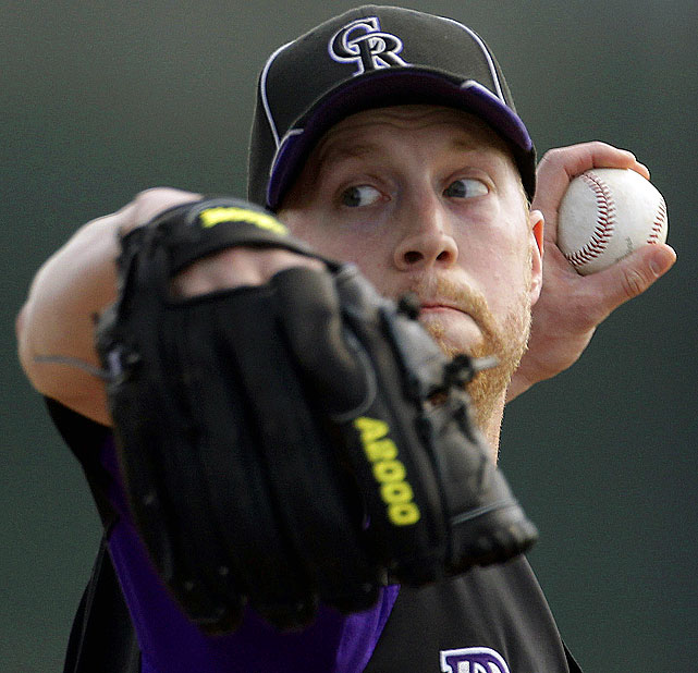 The Rockies reliever was placed on the 15-day DL with a strained oblique he suffered while vomiting from food-poisoning.