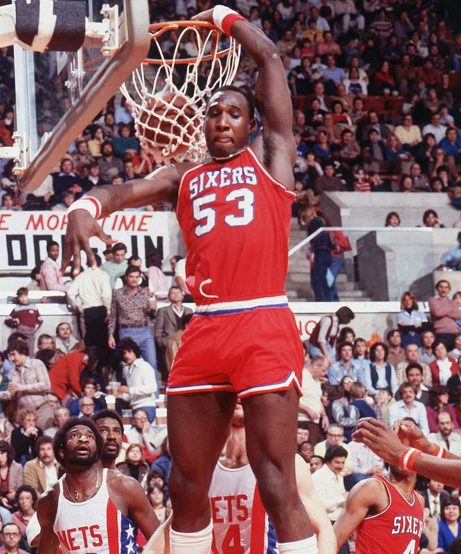 One of the game's most colorful personalities during its most colorful era, Chocolate Thunder gained equal parts notoriety and respect for his ferocious dunks -- and their subsequent nomenclature. The eccentric big man famously gave his dunks names like the Go-Rilla, the In-Your-Face Disgrace, the Yo-Mama and the Spine-Chiller Supreme.