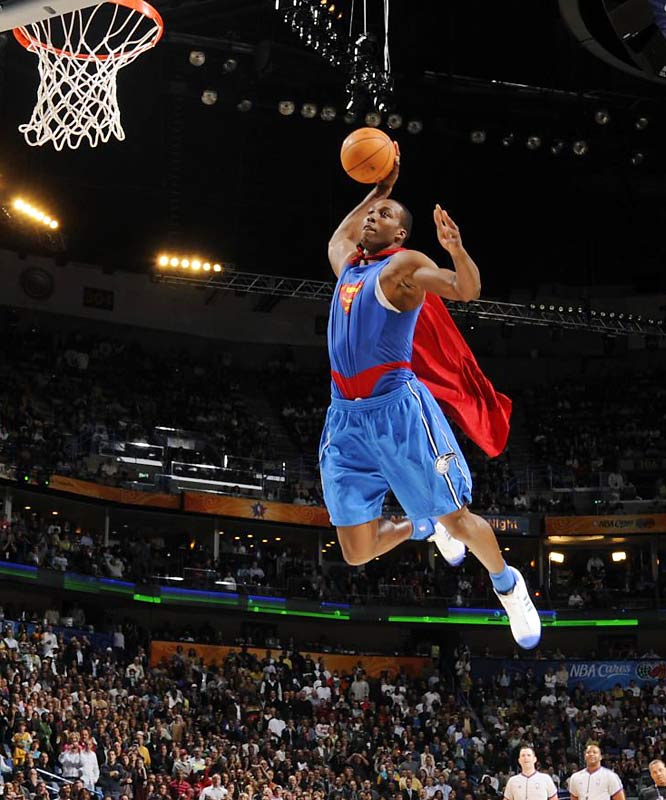 Orlando's reliable post man has displaced Shaq as the NBA's most prolific dunker -- as his league-leading 254 flushes last season would indicate. His Superman dunk in this year's dunk contest earned a rare perfect score and punctuated the first victory for a center in the competition's 24-year history.