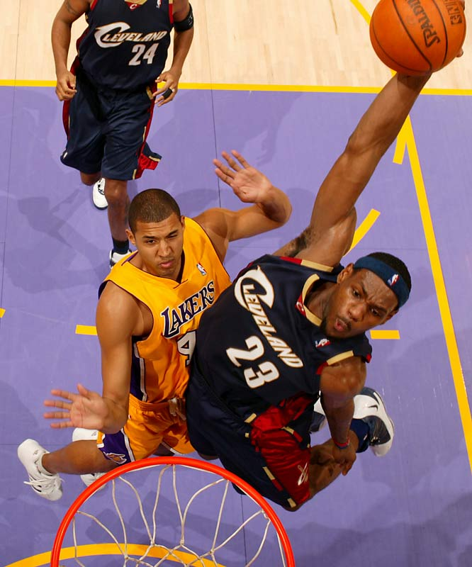 Despite never putting it on the line in the dunk contest, King James has earned a reputation as one of the league's most impressive dunk artists -- leading the NBA last season in driving dunks (36). That skill took center stage in this year's All-Star Game, when his slash-and-flush during the final minute broke a 125-125 tie and sparked the East to a surprising victory.